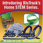 Blu Track Review ad